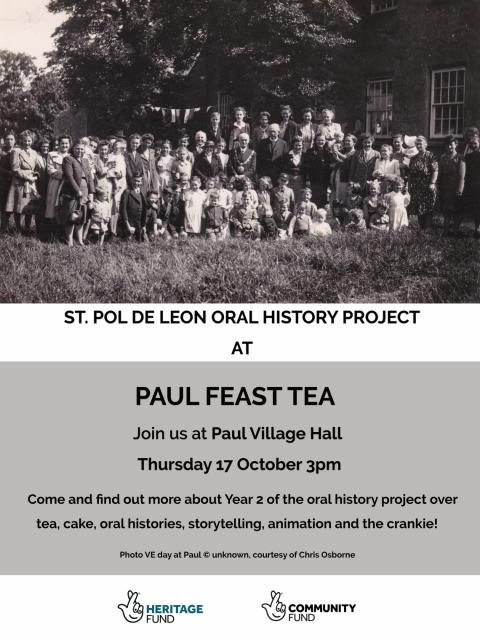 Paul Feast Tea poster