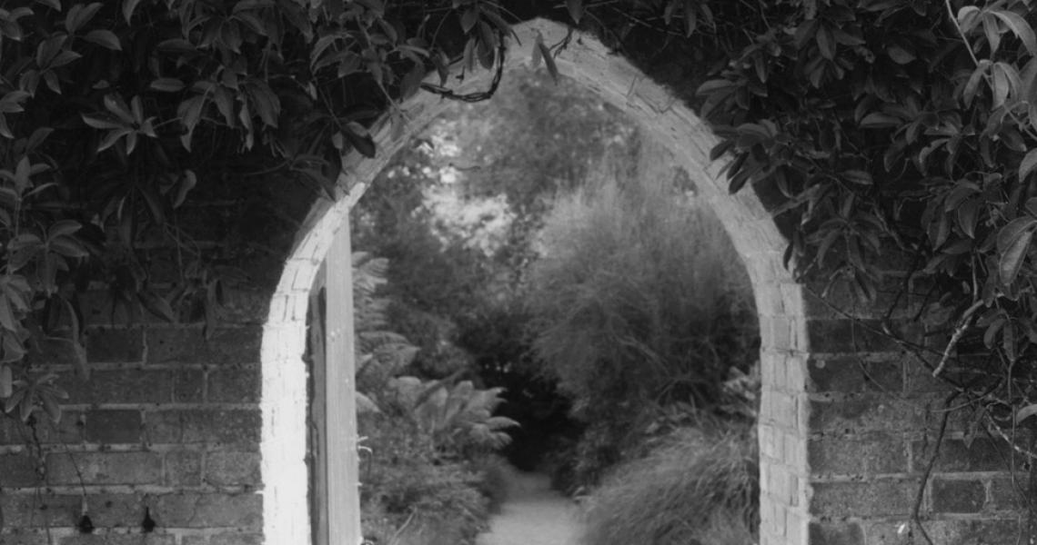 Arch at Trengwainton